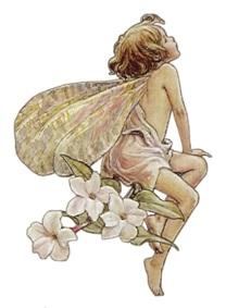 Маленька фея схема для вишивання
