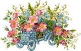 Весняний букет схема для вишивання
