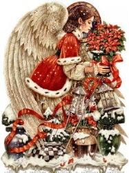 Різдво схема для вишивання