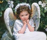 Білий ангел схема для вишивання