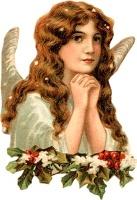 Ангел Різдва схема для вишивання