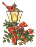 Різдвяний ліхтар схема для вишивання