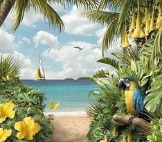 Острів схема для вишивання