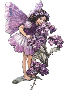 Фея з квіткою схема для вишивання