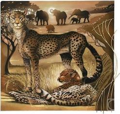 Африка схема для вишивання