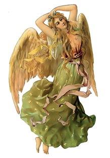 Ангел схема для вишивання