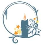 Свічка схема для вишивання