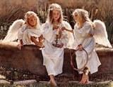Три ангели схема для вишивання