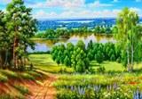 Схема Літній пейзаж