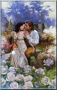 Романтичний сюжет схема для вишивання