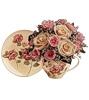 Ваза з розами схема для вишивання