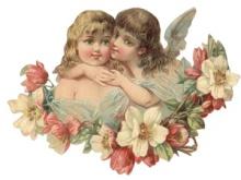 Любов ангела схема для вишивання