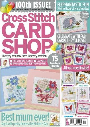 Журнал - Cross Stitch Card Shop ( вишиті листівки)
