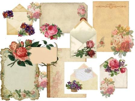 Винтажные конверты