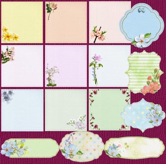 Карточки з квітами
