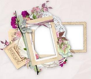 Вінтажна рамка для фото