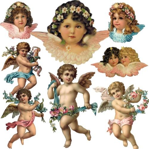 Вінтажні ангели