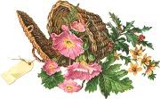 Квіти в кошику схема для вишивання