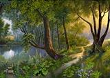 Ліс схема для вишивання