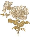 Квітки схема для вишивання